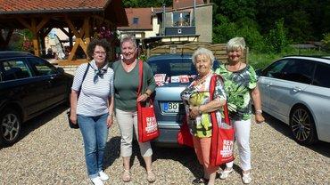 Pendleraktion zur Rentenkampagne