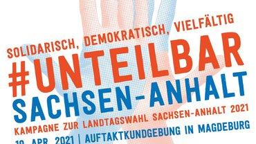 unteilbar Sachsen-Anhalt